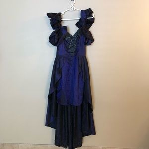 AWESOME 80's Prom Party Dress Gown